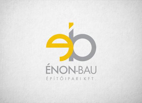 Énon-Bau – építőipari vállalkozás logó