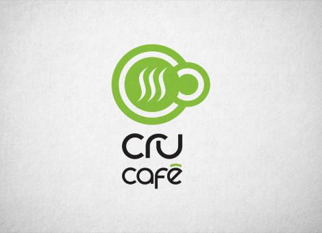 Cru-Café kávézó logó