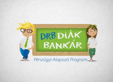 DRB Bank Diákbankár – pénzügyi képzés projekt logó