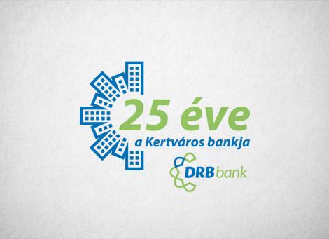 DRB Bank – Kertvárosi fiók jubileumi logó
