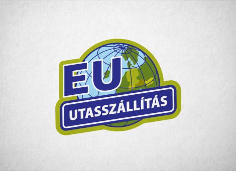 Eu utasszállítás – személyszállító vállalkozás logó