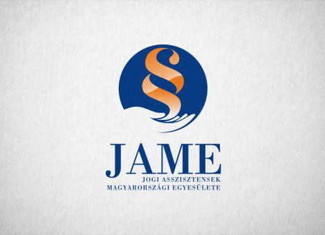 JAME – Jogi Asszisztensek Magyarországi Egyesülete – logó