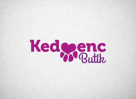 Kedvenc Butik kisállatbolt logó