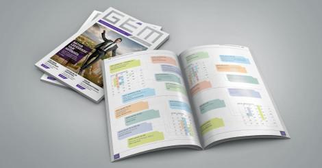 GÉM Magazin tervezés – Egyedi kreatív megoldások