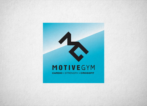 Motive Gym Fitness terem logó