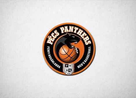 Pécs Panthers kosárlabda klub logó