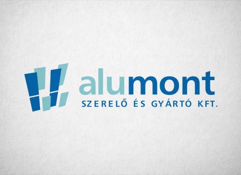 ALUMONT – Építőipari Szerelő és Gyártó vállalkozás logó