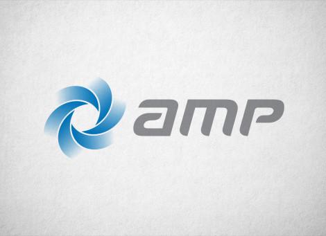 AMP – csőkútszivattyú forgalmazás és szerviz logó