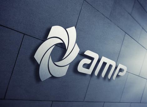 AMP – logó és kisarculat tervezés