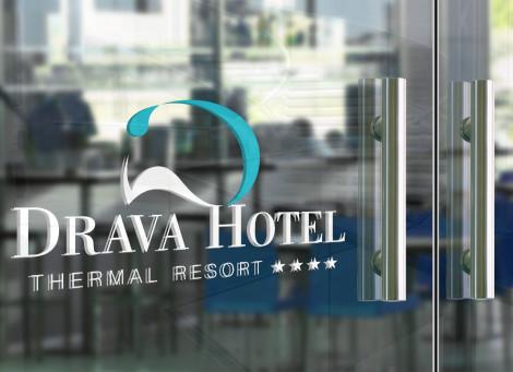 Dráva Hotel komplett arculattervezés