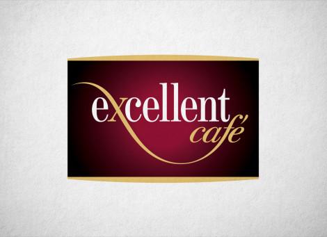 Excellent Café kávézó logó