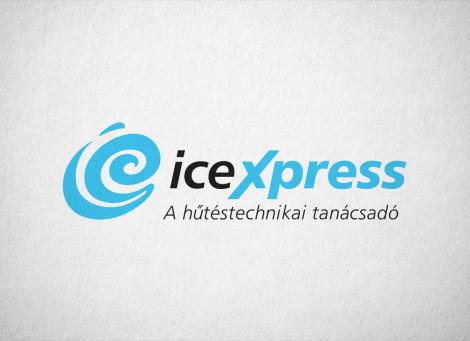 Icexpress ipari hűtéstechnika logó