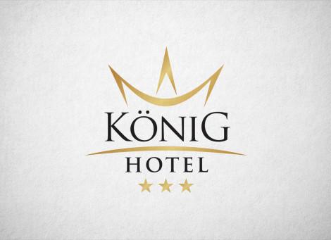 König Hotel logó