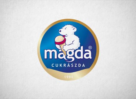 Magda Cukrászda logó