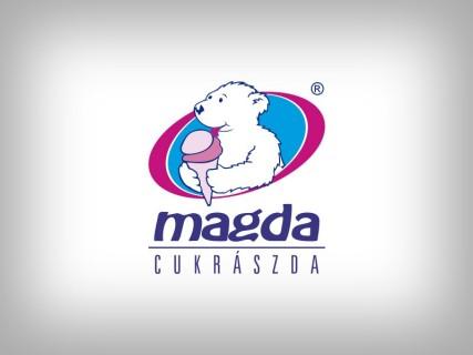 Magda Cukrászda régi logó