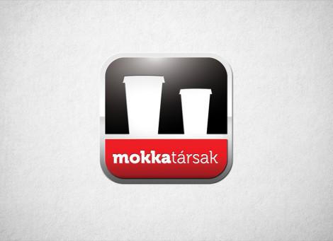 Mokkatársak italautomata üzemeltető vállalkozás logó