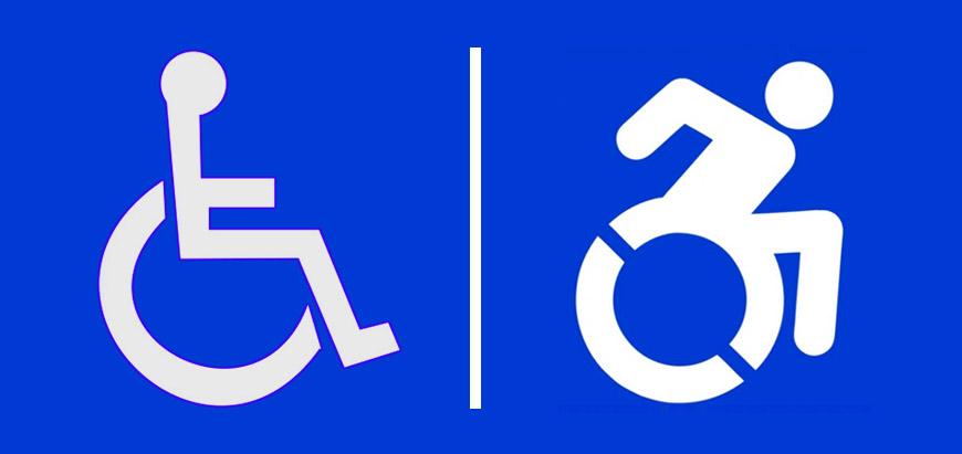 Mozgássérült logó